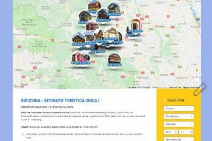 Online WEB ro - Model magazin online realizat, magazin vânzări oferte turistice din Bucovina Suceava