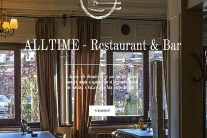 Online WEB ro - Model site prezentare realizat, site prezentare restaurant bar Foto 1